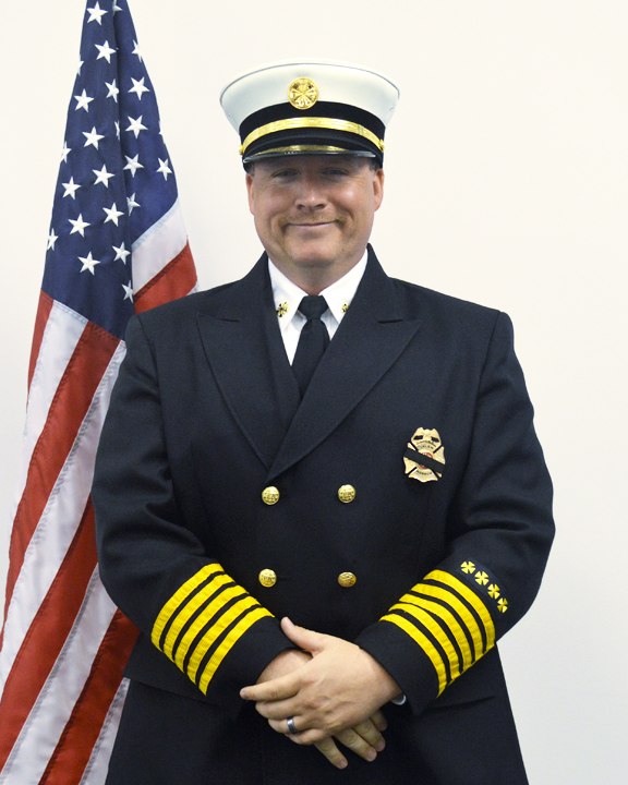 Fire Chief William Harrison